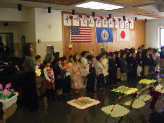 ボストン日本語学校卒園式