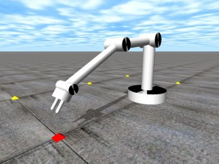 Open Dynamics Engine: A 3DOF Robot Arm