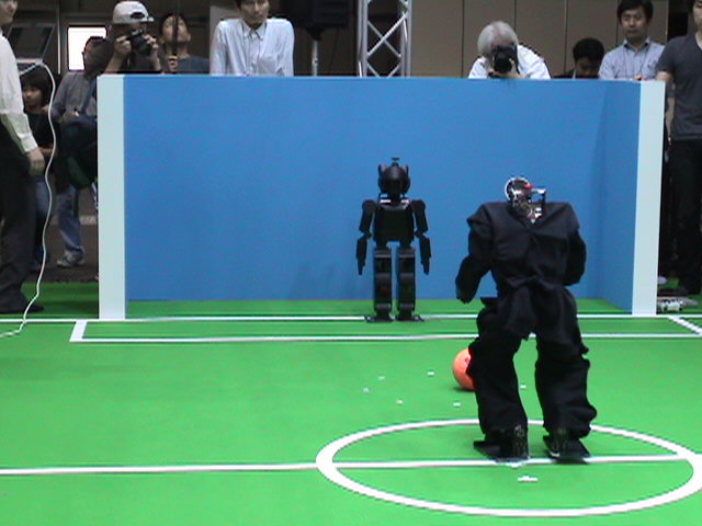 Team Osaka  VS  CIT Brains and Hajime Robot