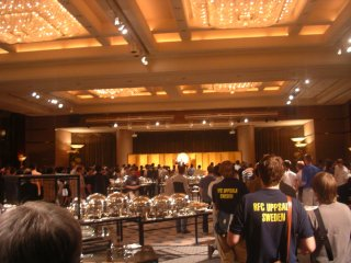 RoboCup2005の会場インテック大阪