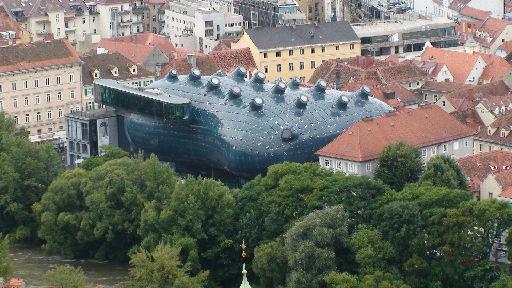 謎の宇宙船? クンストハウス