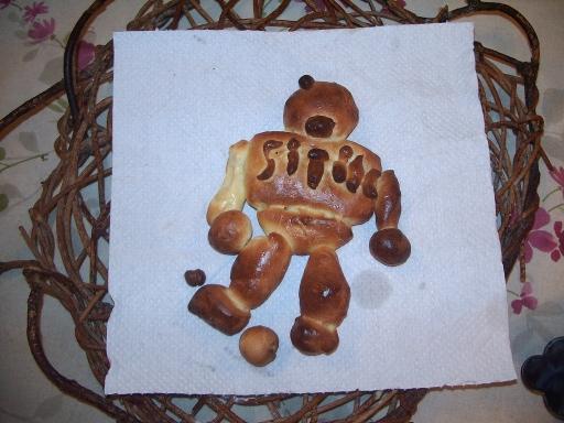 ロボットパン: 焼きあがり