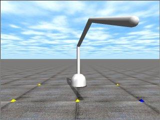 3DOF Robot Arm Petit Simulator   Open Dynamics Engine