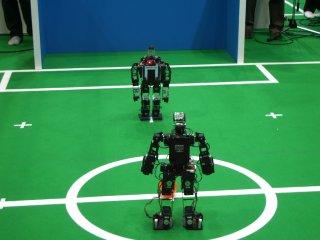 demura.net VS CIT Brains Hajime Robot