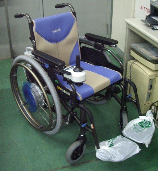 ヤマハ電動車椅子 JWアクティブ