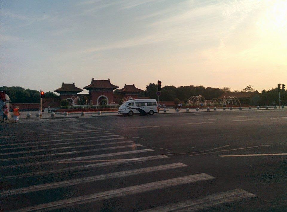 瀋陽市の早朝