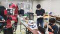 KITオープンキャンパス:協働型ロボットSawyerによるデモ