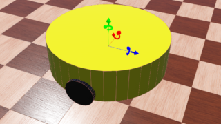 Webots講座11:差動駆動型ロボットの作り方(C言語)